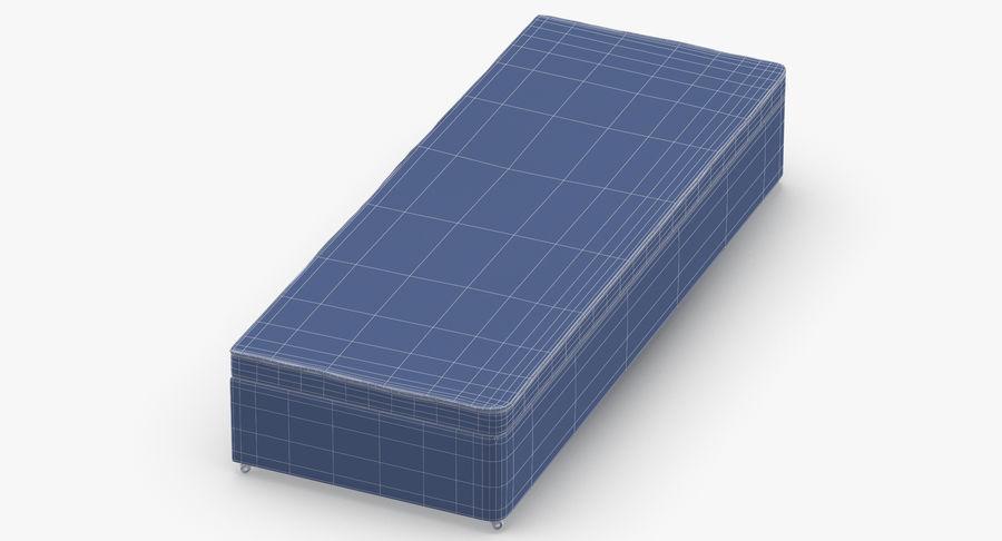 Bed Base 02 Blush royalty-free 3d model - Preview no. 12