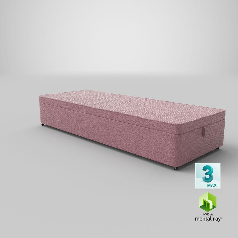 Bed Base 02 Blush royalty-free 3d model - Preview no. 23