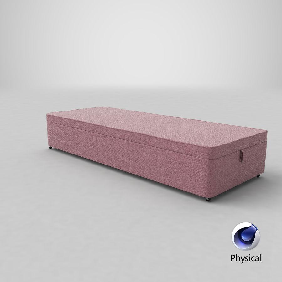 Bed Base 02 Blush royalty-free 3d model - Preview no. 21