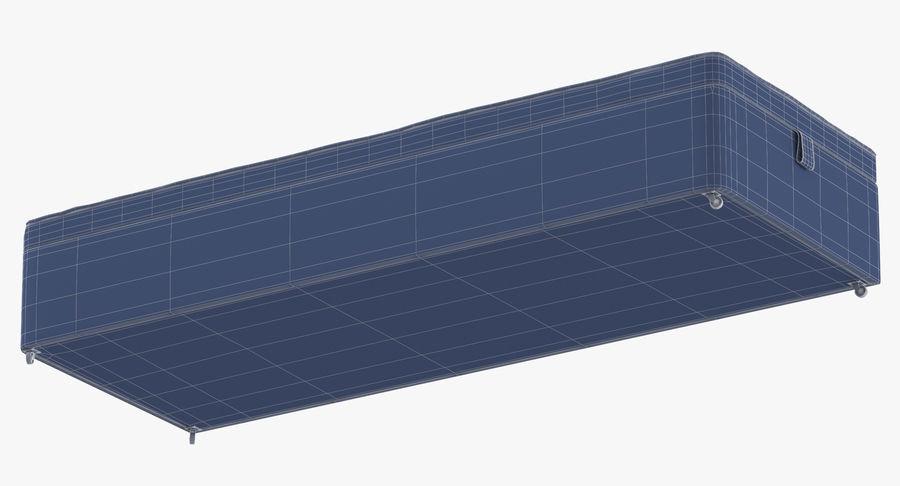 Основание кровати 02 Древесный уголь royalty-free 3d model - Preview no. 17
