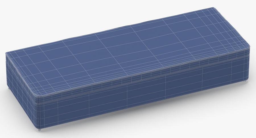 Основание кровати 02 Серый royalty-free 3d model - Preview no. 11