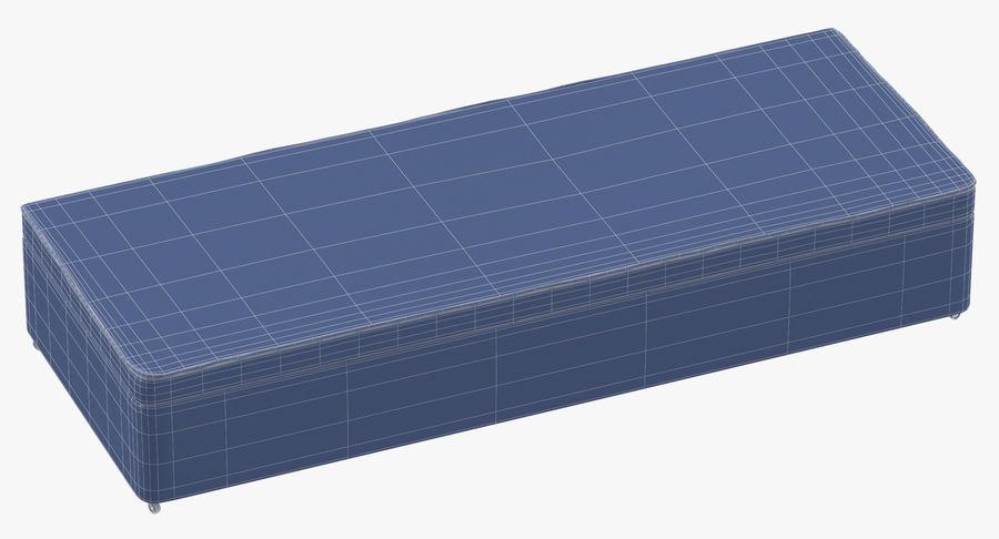 Основание кровати 02 Серый royalty-free 3d model - Preview no. 10