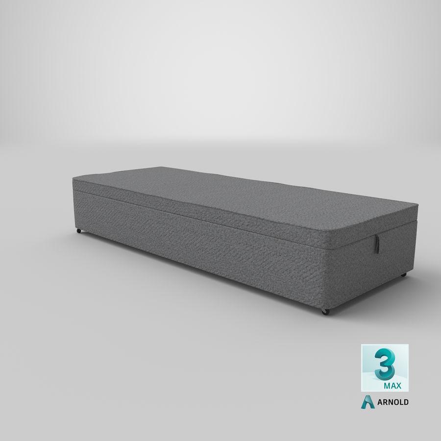 Основание кровати 02 Серый royalty-free 3d model - Preview no. 23