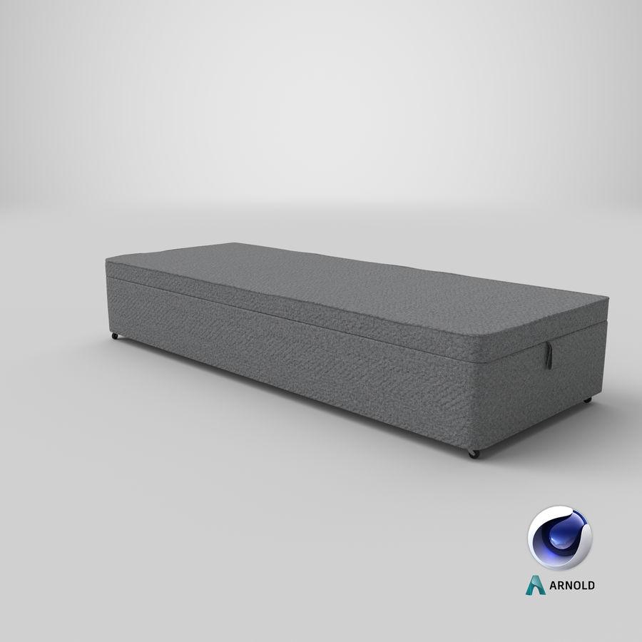 Основание кровати 02 Серый royalty-free 3d model - Preview no. 22