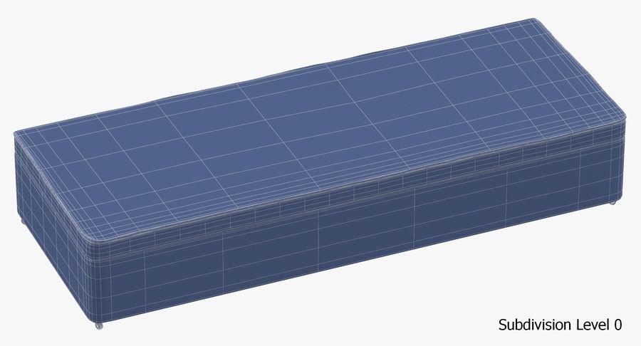 Основание кровати 02 Серый royalty-free 3d model - Preview no. 18