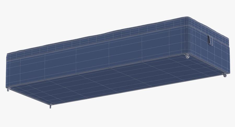 Основание кровати 02 Серый royalty-free 3d model - Preview no. 17