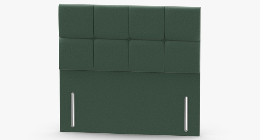 Headboard 03 Mint royalty-free 3d model - Preview no. 5