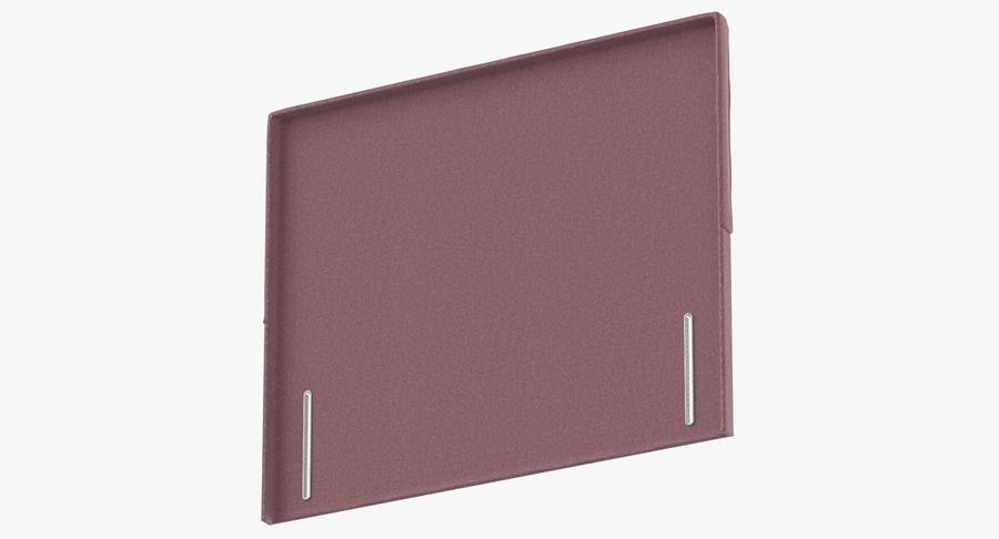 Headboard 04 Blush royalty-free 3d model - Preview no. 8