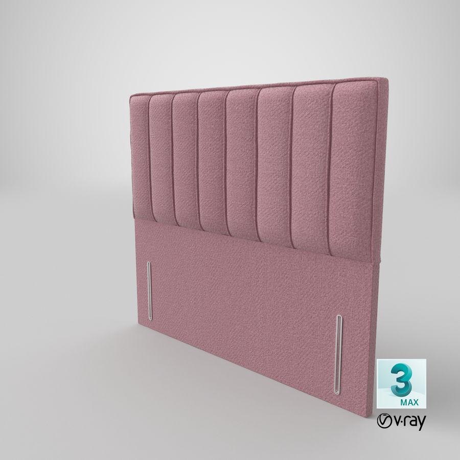 Headboard 04 Blush royalty-free 3d model - Preview no. 25
