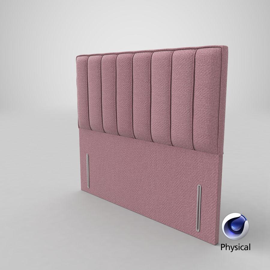Headboard 04 Blush royalty-free 3d model - Preview no. 21
