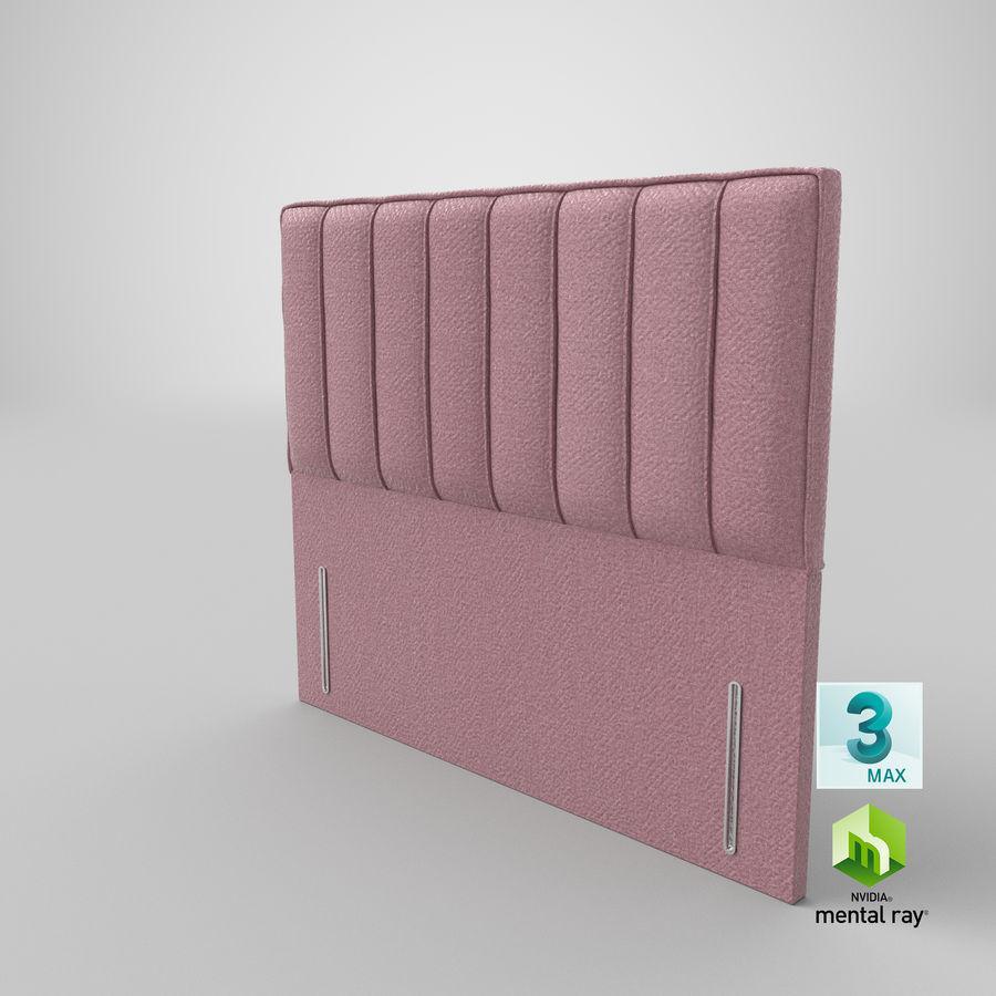 Headboard 04 Blush royalty-free 3d model - Preview no. 24