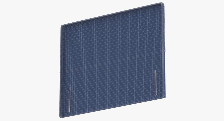 Headboard 04 Blush royalty-free 3d model - Preview no. 16