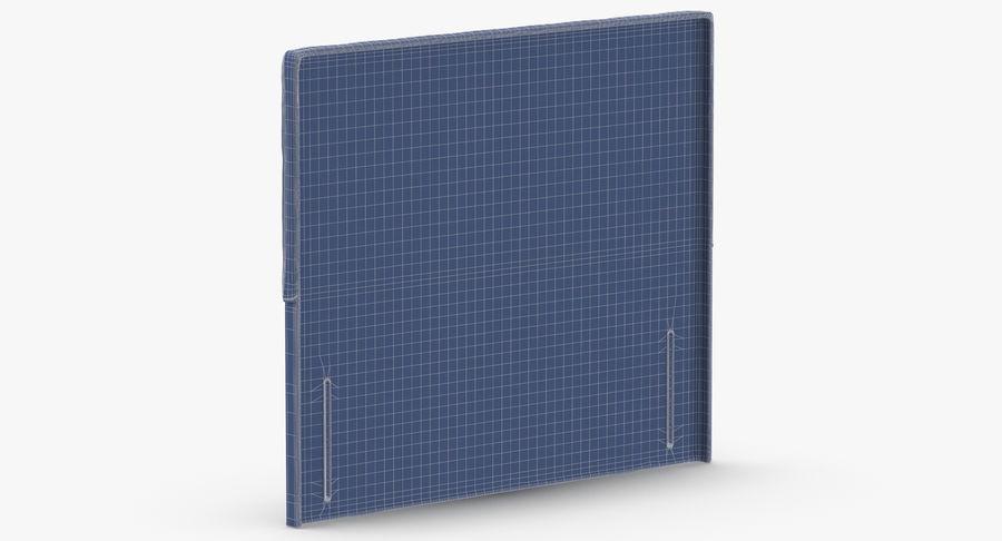 Headboard 04 Blush royalty-free 3d model - Preview no. 14