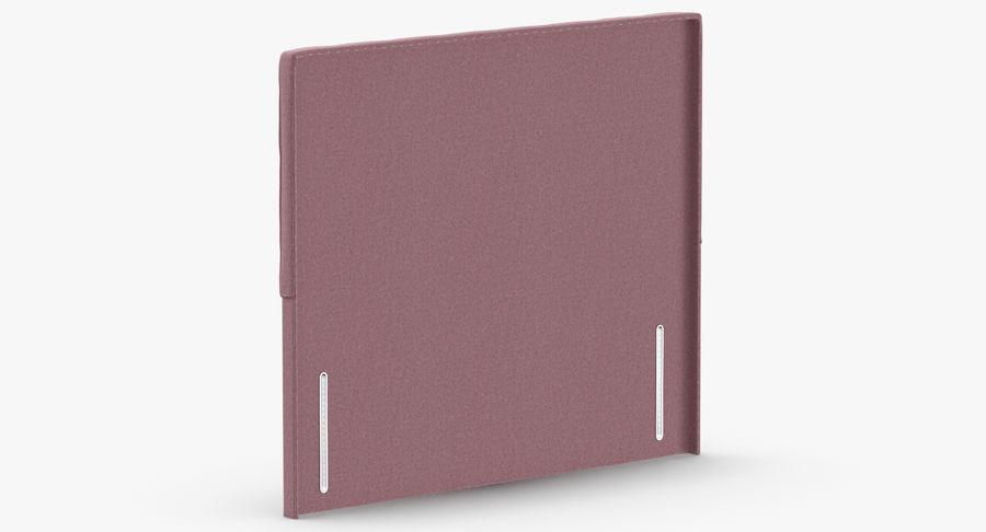 Headboard 04 Blush royalty-free 3d model - Preview no. 6
