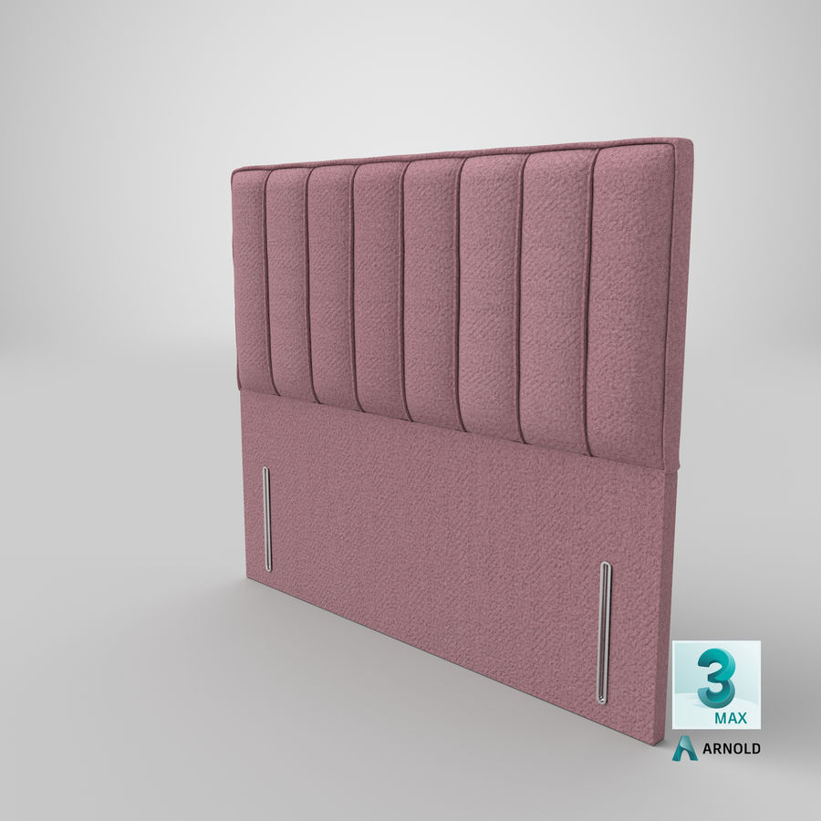 Headboard 04 Blush royalty-free 3d model - Preview no. 23