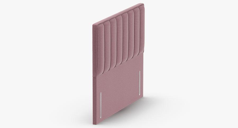 Headboard 04 Blush royalty-free 3d model - Preview no. 4