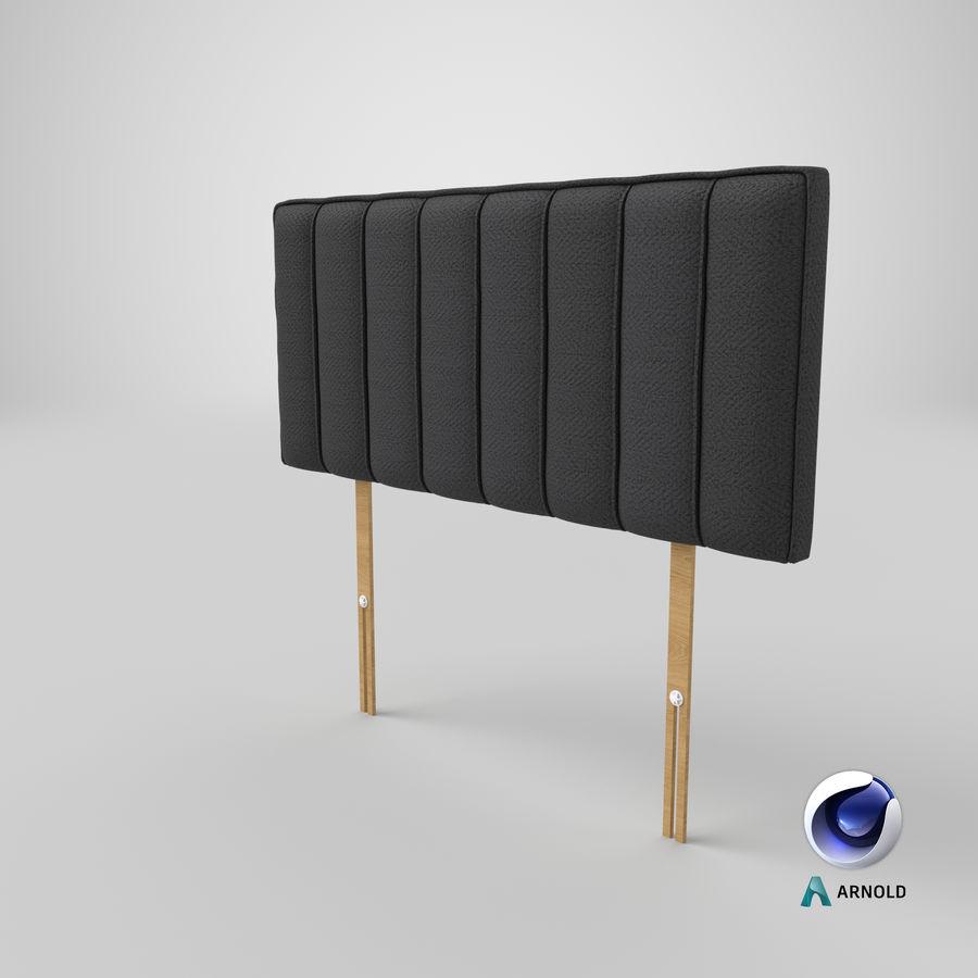 床头板10木炭 royalty-free 3d model - Preview no. 22
