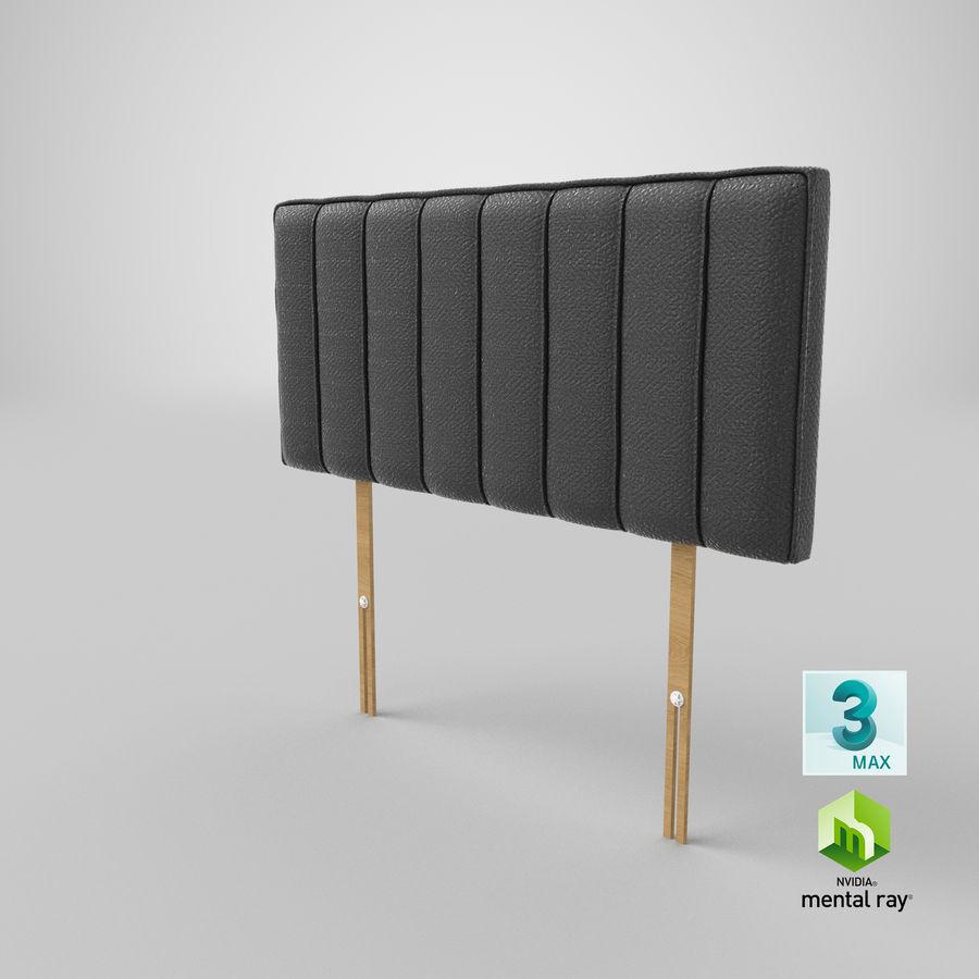 床头板10木炭 royalty-free 3d model - Preview no. 24