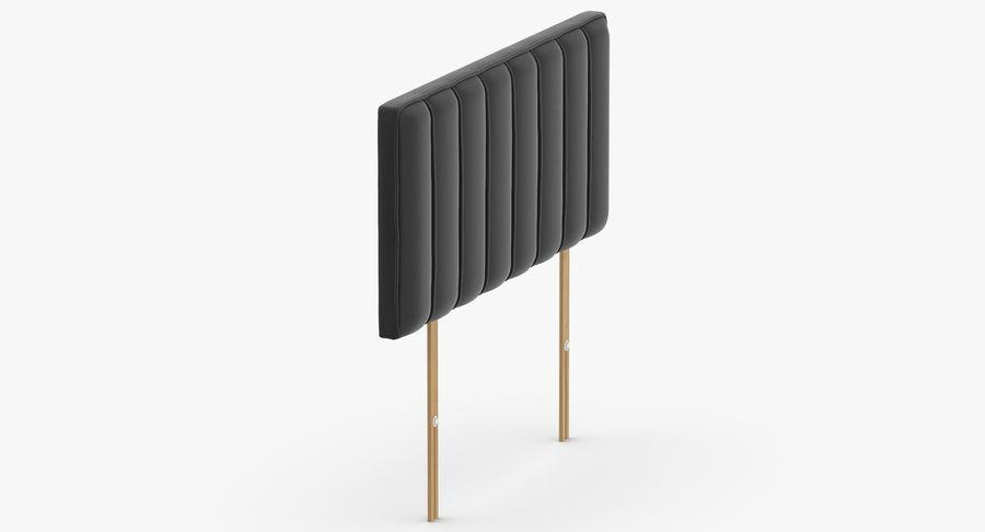 床头板10木炭 royalty-free 3d model - Preview no. 4