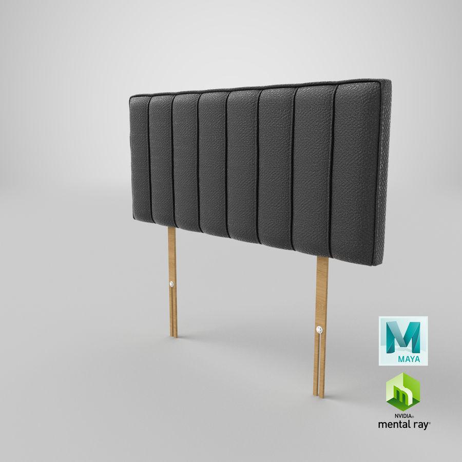 床头板10木炭 royalty-free 3d model - Preview no. 27