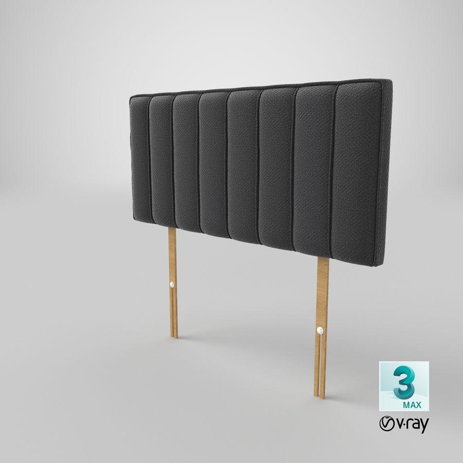 床头板10木炭 royalty-free 3d model - Preview no. 25