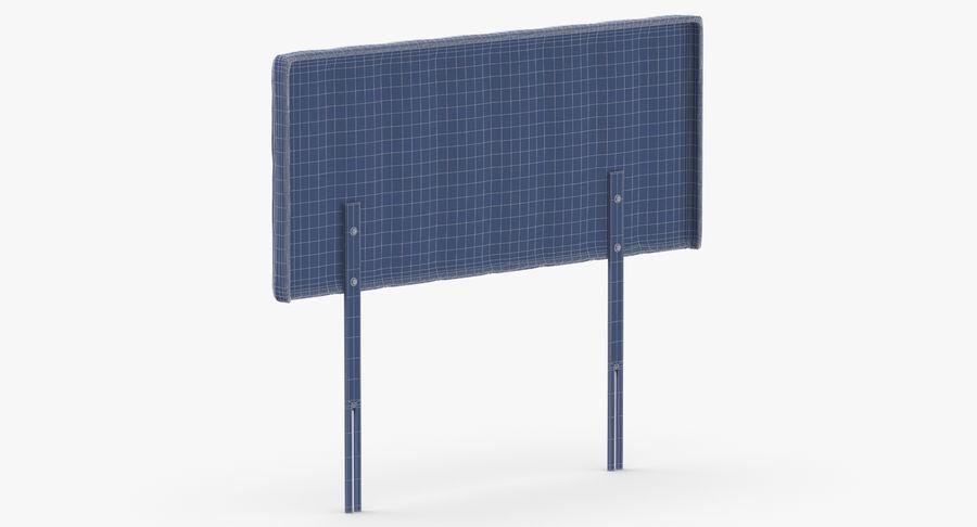 床头板10木炭 royalty-free 3d model - Preview no. 14
