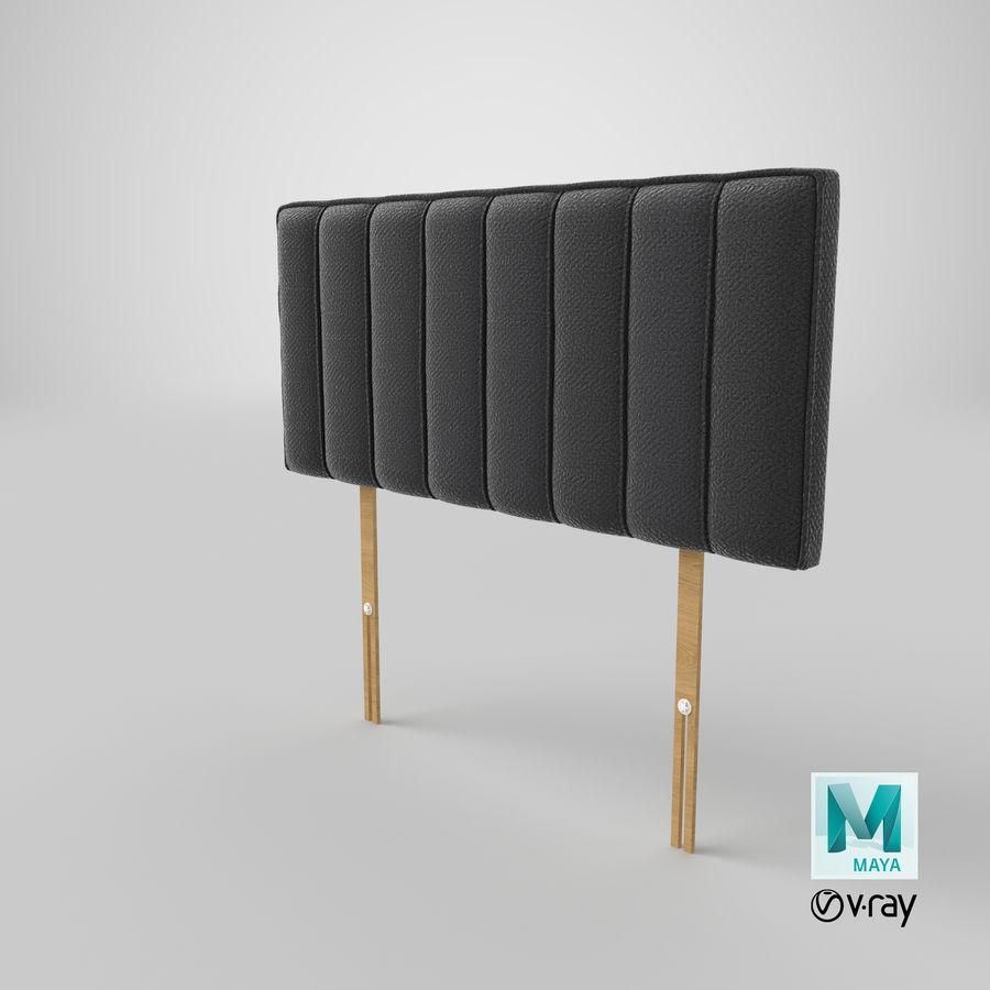 床头板10木炭 royalty-free 3d model - Preview no. 28