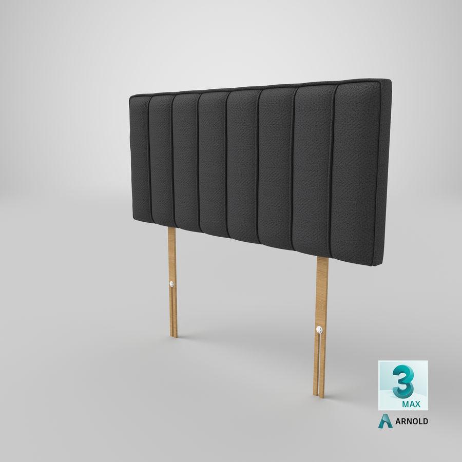 床头板10木炭 royalty-free 3d model - Preview no. 23