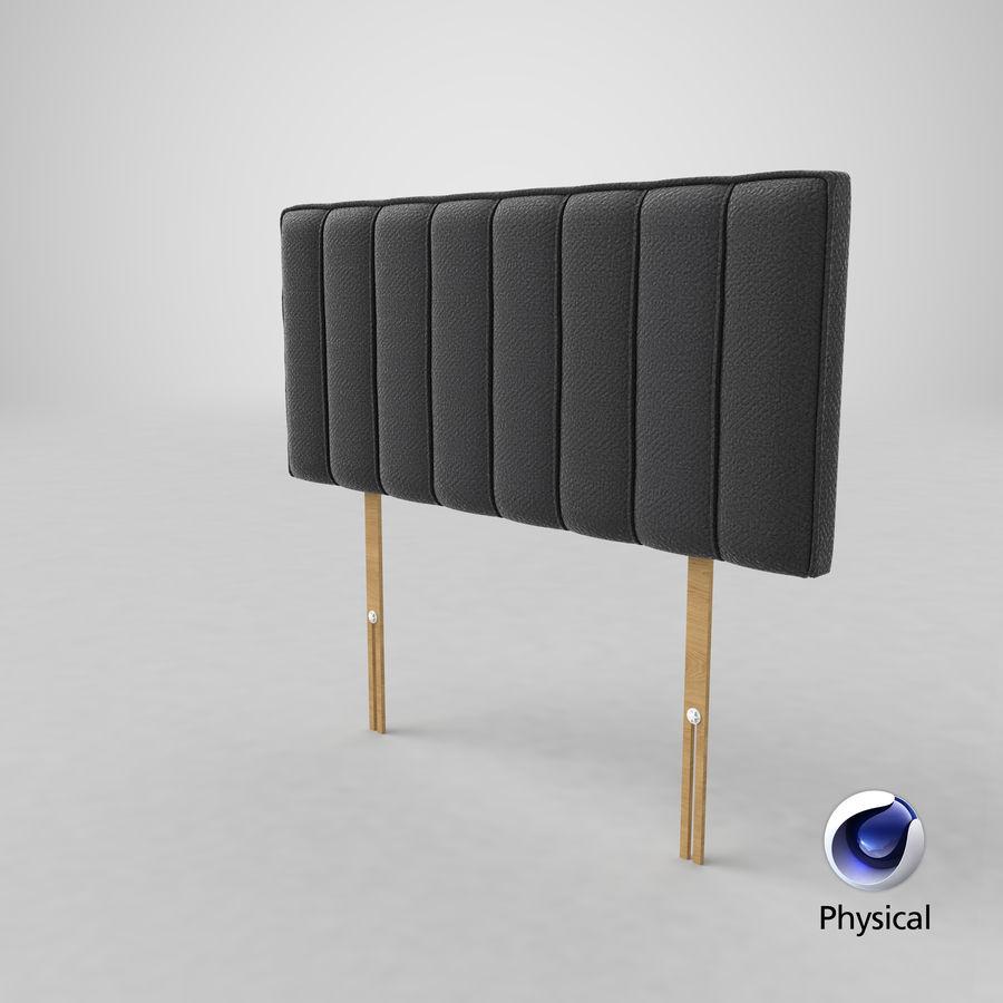 床头板10木炭 royalty-free 3d model - Preview no. 21