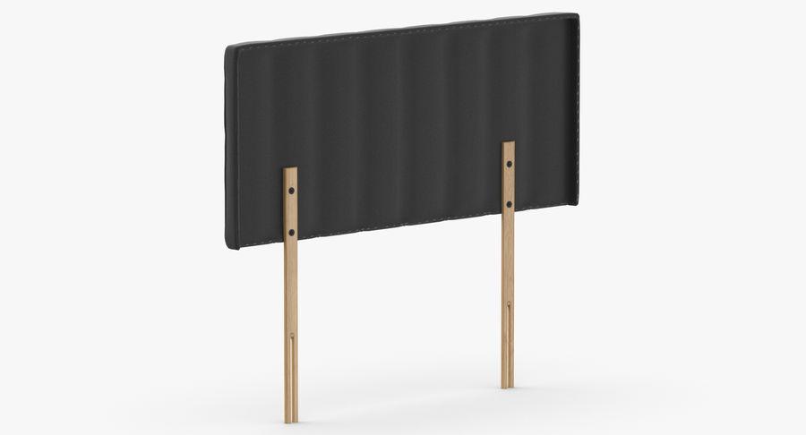 床头板10木炭 royalty-free 3d model - Preview no. 6