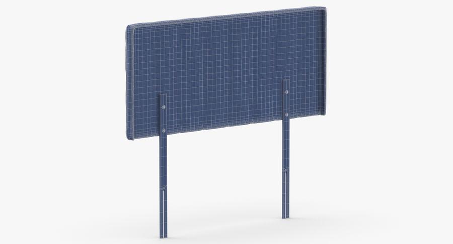 Изголовье 10 серый royalty-free 3d model - Preview no. 14