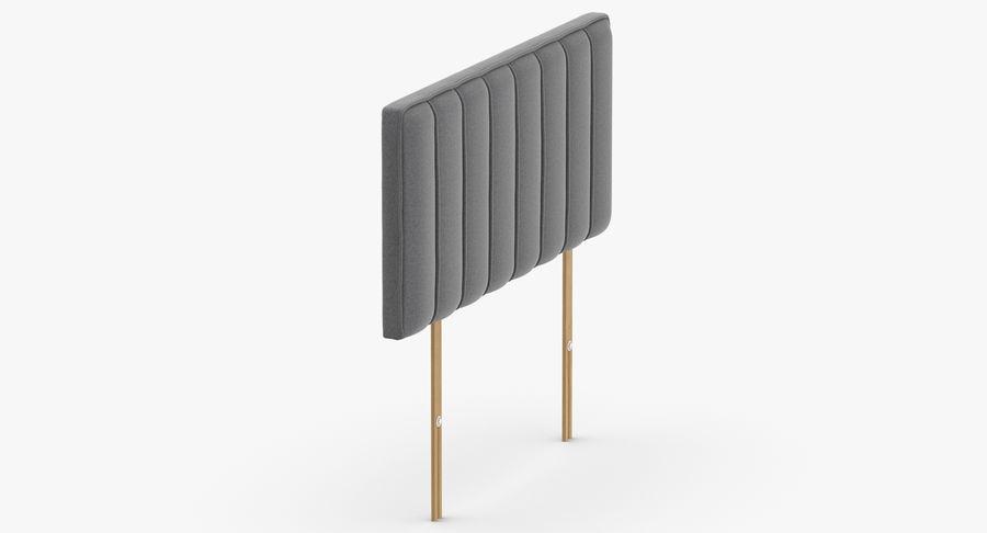 Изголовье 10 серый royalty-free 3d model - Preview no. 4