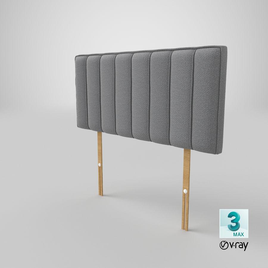 Изголовье 10 серый royalty-free 3d model - Preview no. 25