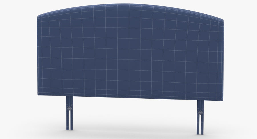 Headboard 11 Mint royalty-free 3d model - Preview no. 13