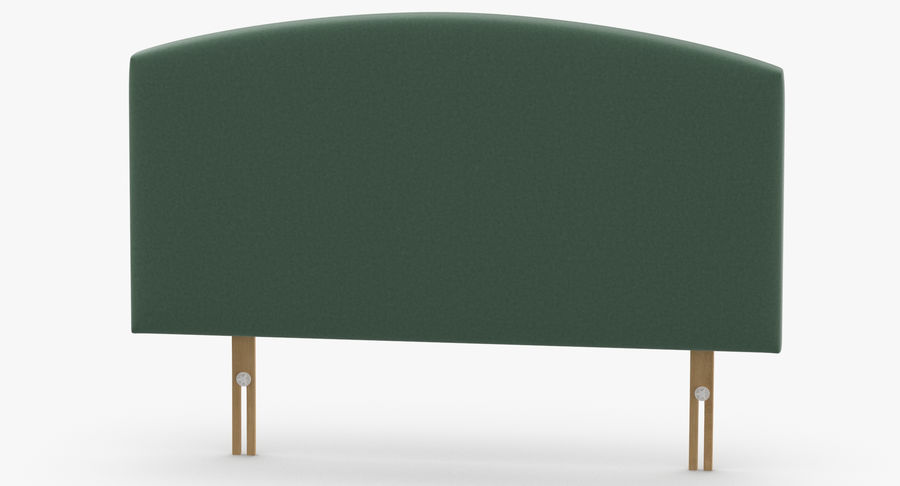 Headboard 11 Mint royalty-free 3d model - Preview no. 5
