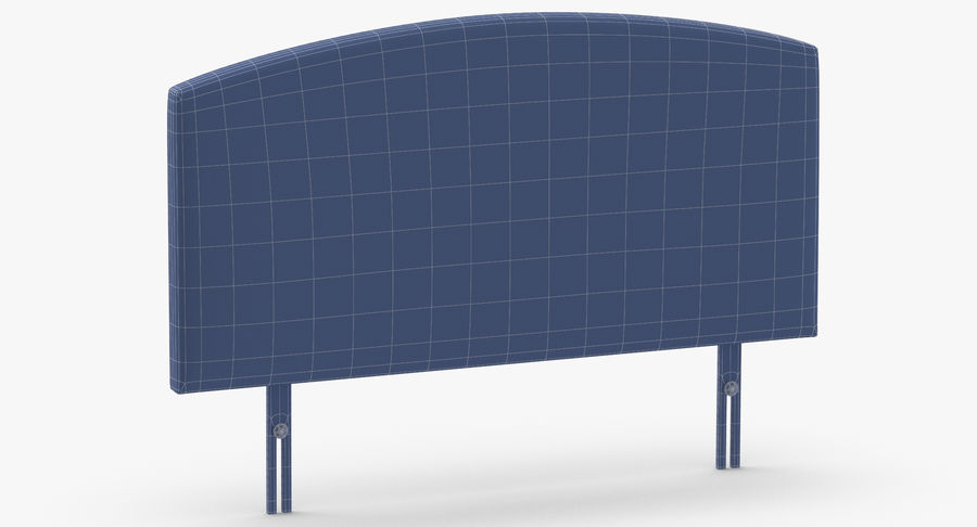 Headboard 11 Mint royalty-free 3d model - Preview no. 11