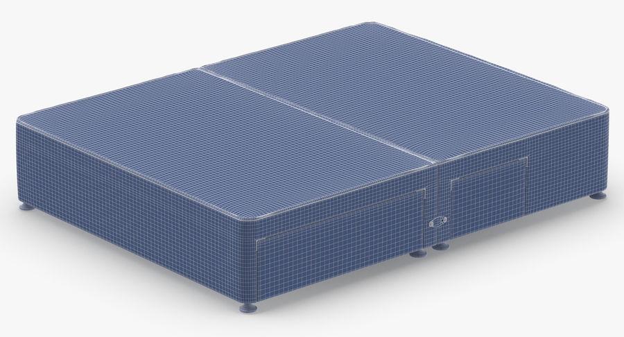 Bed Base 08 Blush royalty-free 3d model - Preview no. 14