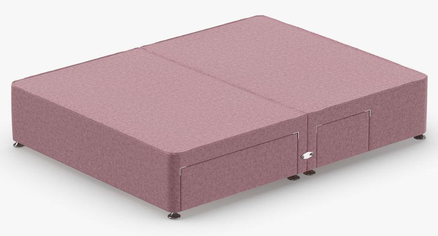 Bed Base 08 Blush royalty-free 3d model - Preview no. 6
