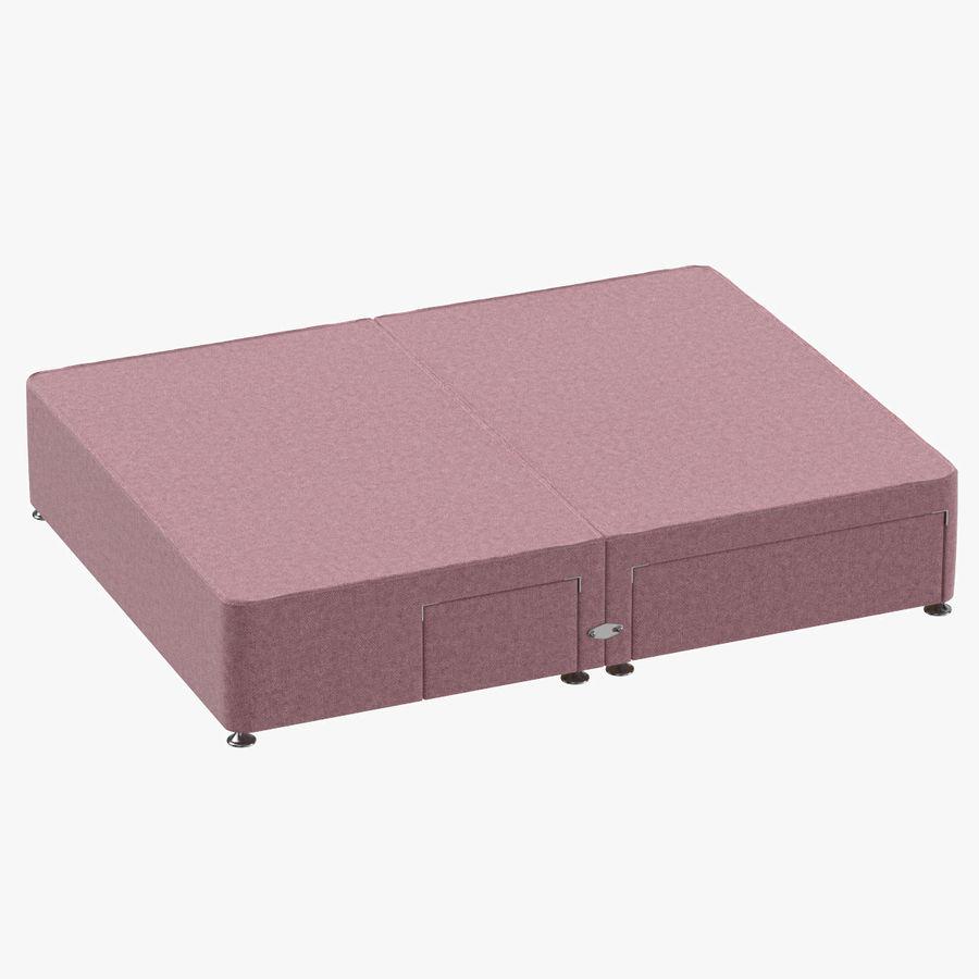 Bed Base 08 Blush royalty-free 3d model - Preview no. 1