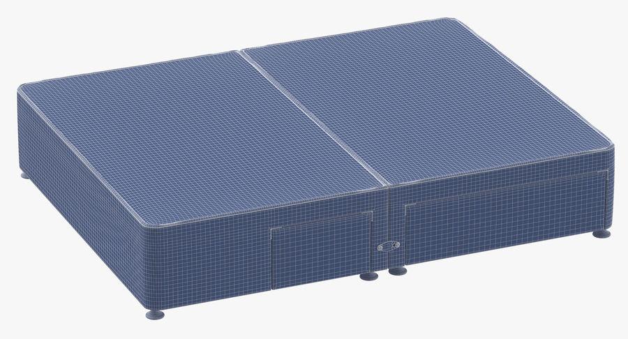 Bed Base 08 Blush royalty-free 3d model - Preview no. 10