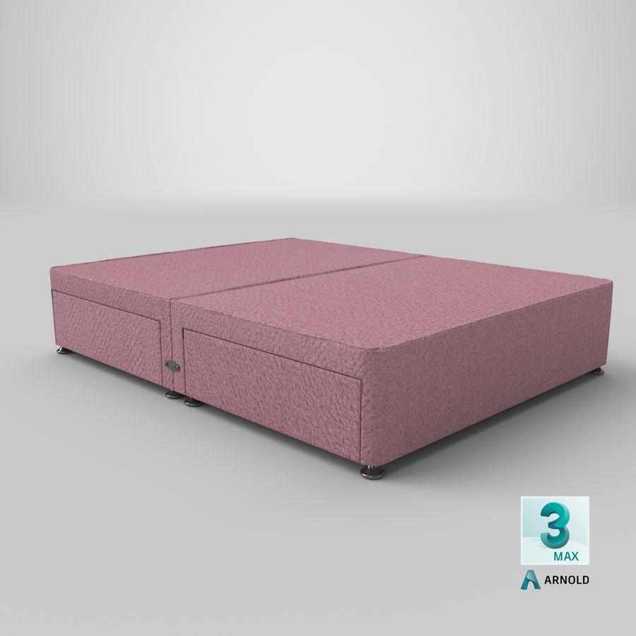 Bed Base 08 Blush royalty-free 3d model - Preview no. 23