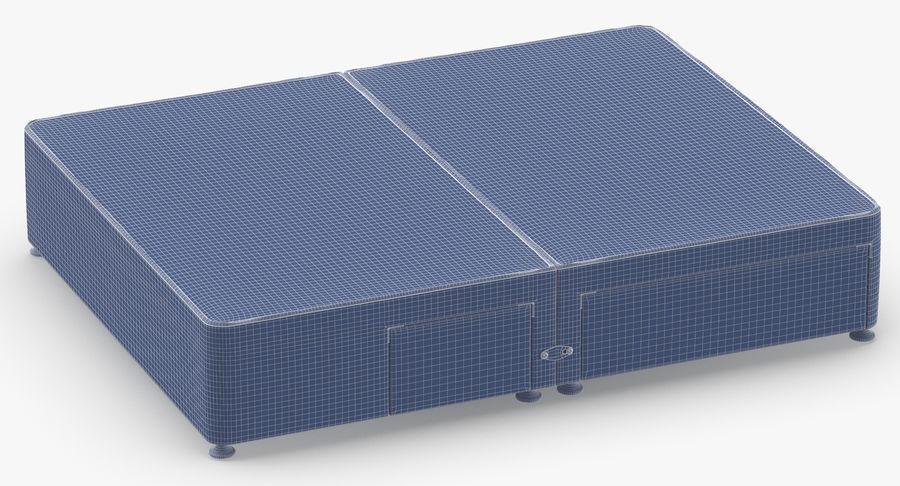 Bed Base 08 Blush royalty-free 3d model - Preview no. 11