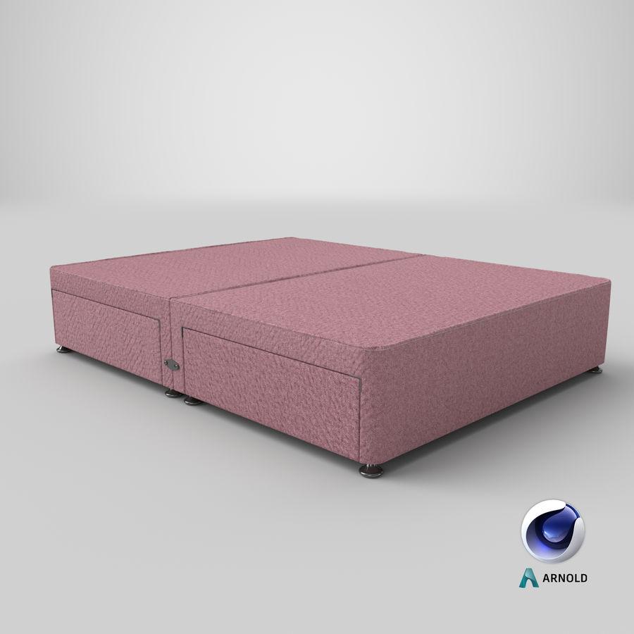 Bed Base 08 Blush royalty-free 3d model - Preview no. 22