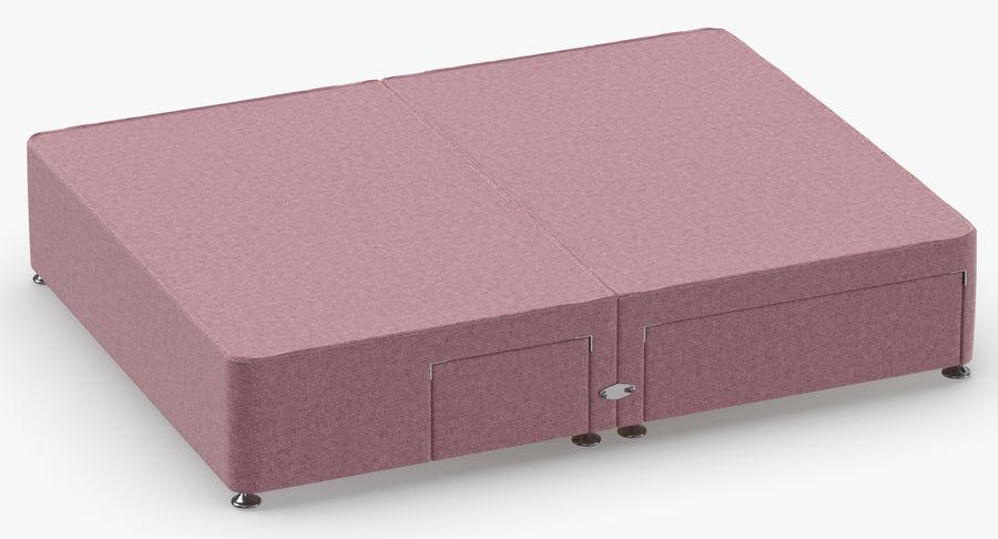 Bed Base 08 Blush royalty-free 3d model - Preview no. 3