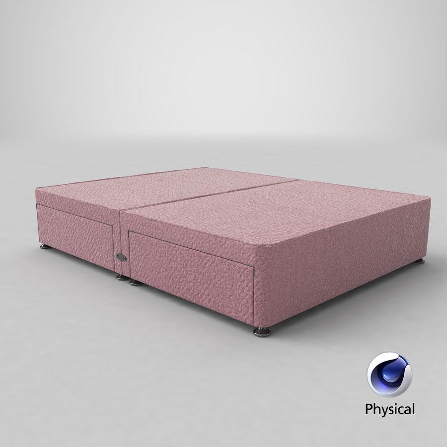 Bed Base 08 Blush royalty-free 3d model - Preview no. 21