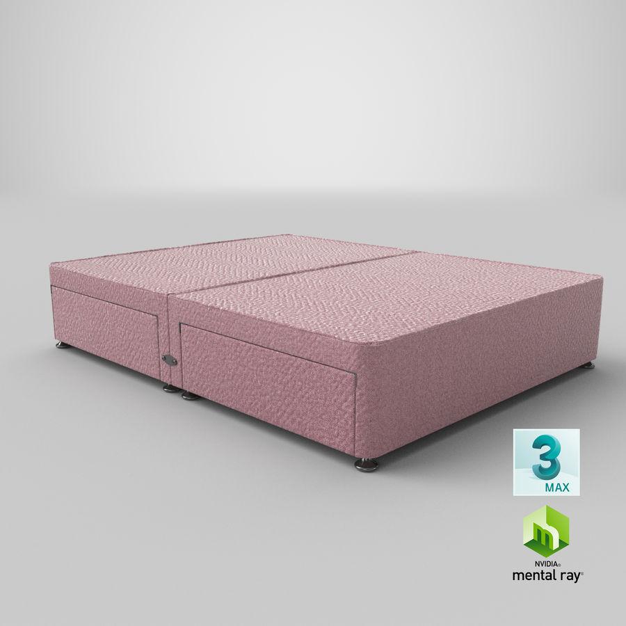 Bed Base 08 Blush royalty-free 3d model - Preview no. 24