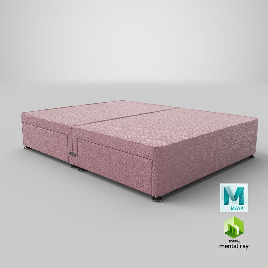 Bed Base 08 Blush royalty-free 3d model - Preview no. 27