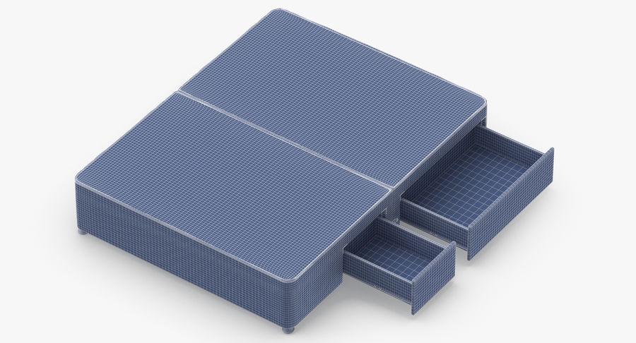 Bed Base 08 Blush royalty-free 3d model - Preview no. 15