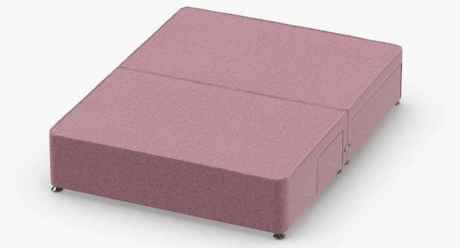 Bed Base 08 Blush royalty-free 3d model - Preview no. 4