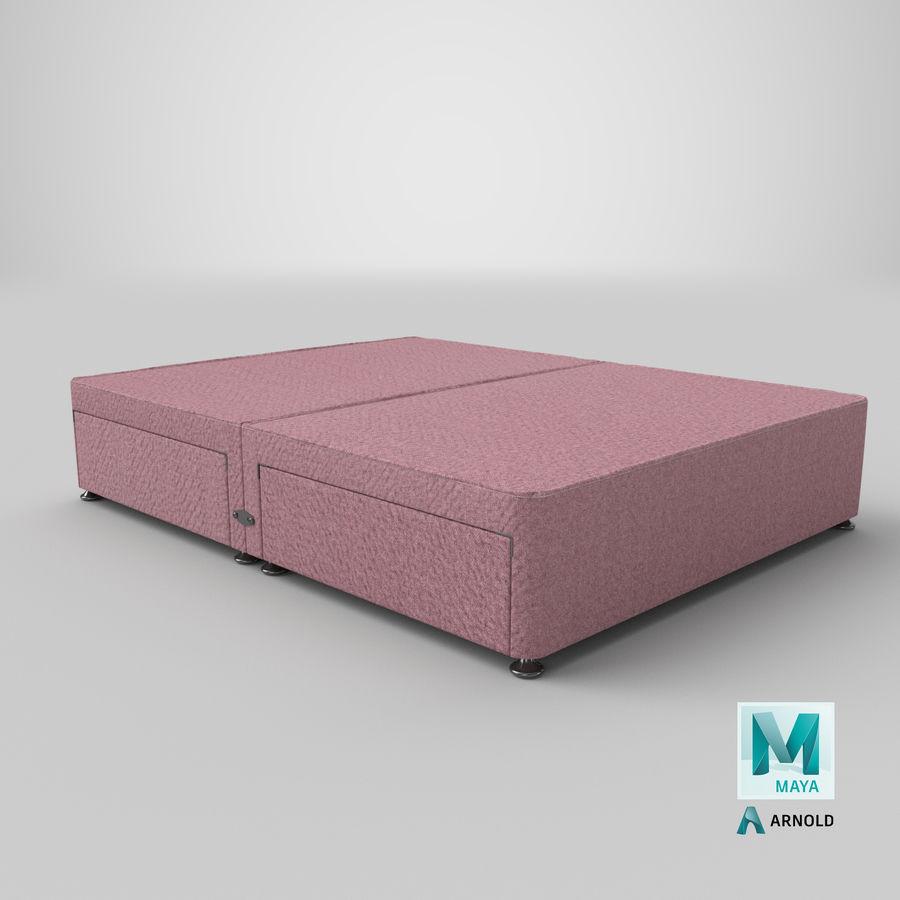 Bed Base 08 Blush royalty-free 3d model - Preview no. 26